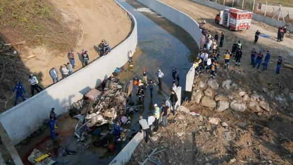 Accidente de inmigrantes en Turquía