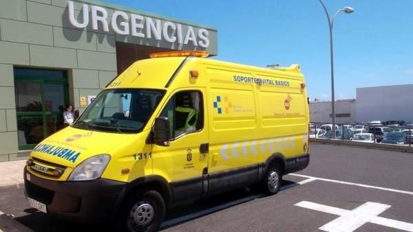 Ambulancia en Canarias