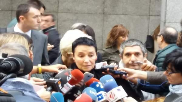 Jone Goirizelaia antes del juicio del caso Cabacas