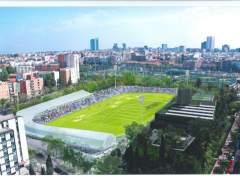 El estadio de Vallehermoso podría abrir durante el segundo trimestre de 2019