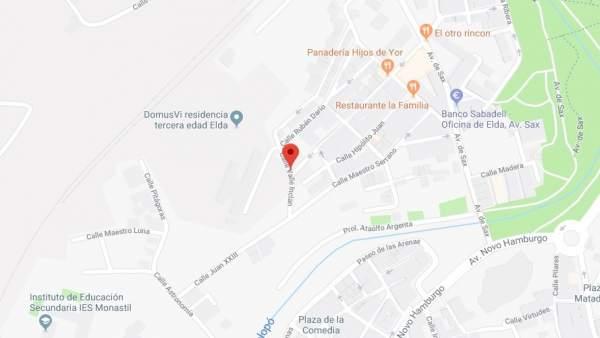 Ferit lleu un home de 70 anys en l'incendi d'una residència de la tercera edat d'Elda (Alacant)