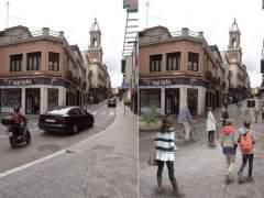Colau despliega en el casco antiguo de Horta la cuarta 'superilla' de Barcelona