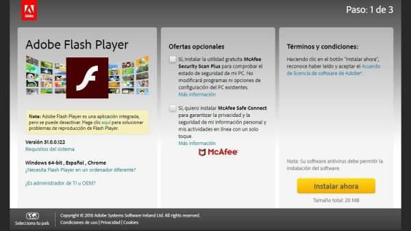 Resultado de imagen de Adobe Flash Player
