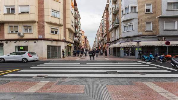 Mejora de la calle Delicias