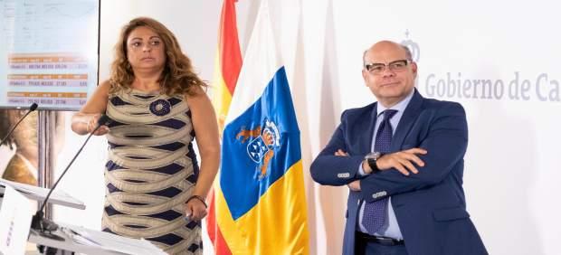 Rueda de prensa tras el Consejo de Gobierno de Canarias