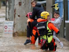 Al menos 13 muertos por las inundaciones en el sur de Francia tras el temporal de lluvia que deja Leslie