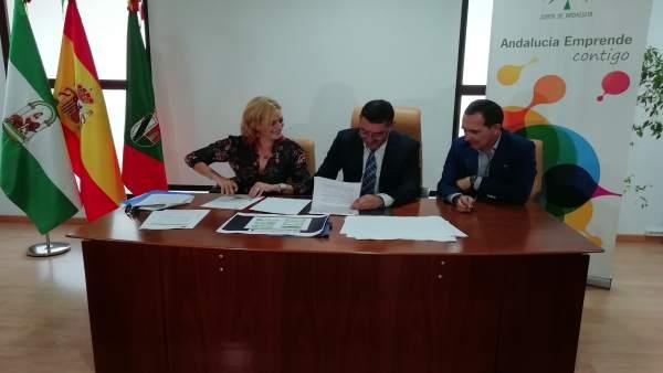 Andalucía Emprende contará con dos nuevos espacios en San Bartolomé.