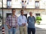 El alclade de Alcalá la Real con responsables del proyecto