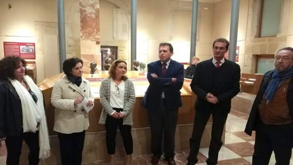 Inauguraicón de la exposición en Soria 15-10-2018
