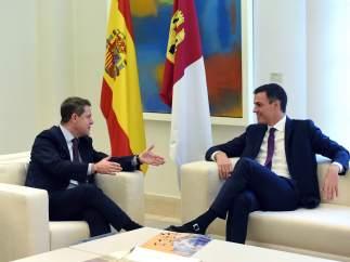 García-Page y Pedro Sánchez