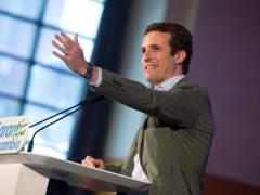 """Casado, a la UE sobre los Presupuestos: """"Pedimos que se exija tanto a Sánchez como a Rajoy"""""""