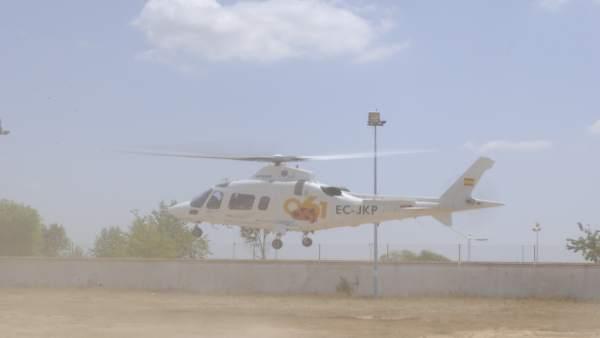 Helicóptero del 06.