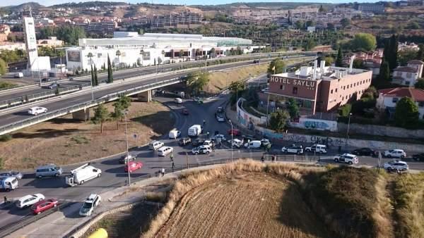 Detención del presunto autor de la muerte de un guardia civil en Granada