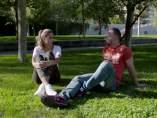 Joana y Juanra, en 'Intercambio consentido'.c