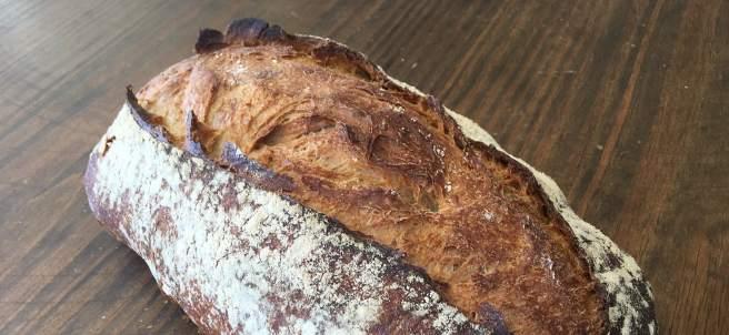 Un auténtico pan de masa madre