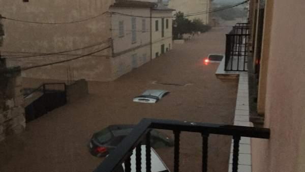 Inundación en Sant Llorenç