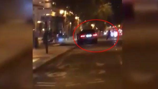 Se busca en Madrid a este conductor temerario