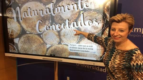 La directora general de Medio Natural, Consuelo Rosauro