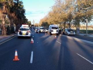 Policía Local en València