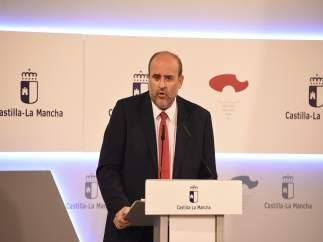 Vicepresidnete primero del Gobierno de C-LM, José Luis Martínez Guijarro