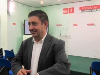 El secretario general del PSOE de Jaén, Francisco Jaén.