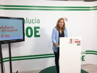 Belén Castillo, secretaria general del PSOE de Palos de la Frontera.