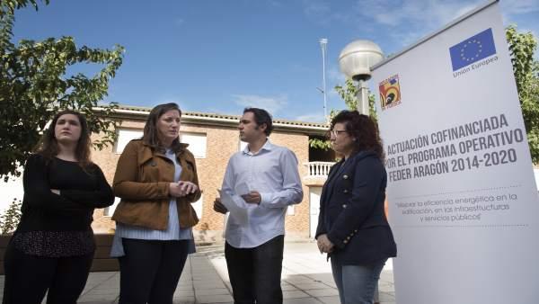 La diputada ha visitado este martes el municipio de Altorricón