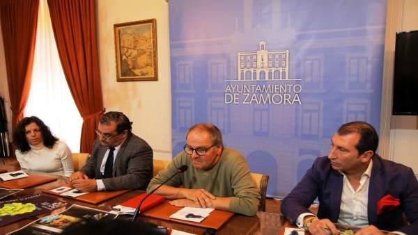 Presentación de la IIFeria Racimos de Zamora 16-10-2018