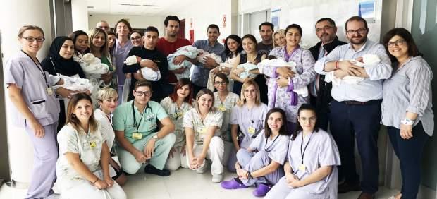El Hospital de Torrevieja bate su récord de nacimientos con 11 alumbramientos en un solo día