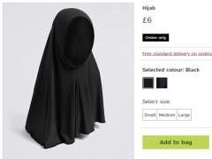 Polémica por la venta de velos islámicos para niñas en unos grandes almacenes