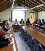 Reunión del Comité Electoral Provincial del PSOE de Jaén.