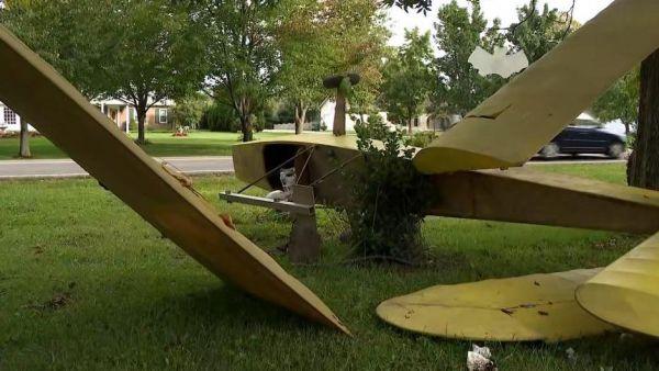 Falso accidente aéreo