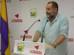 El coordinador provincial de IU en Huelva, Rafael Sánchez Rufo.