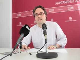 Antonio Rojas en el Ayuntamiento
