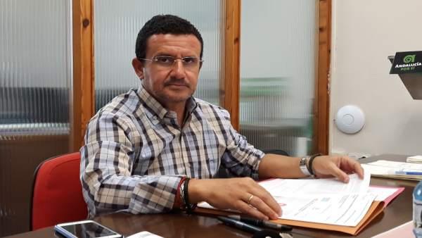 El diputado provincial del PA, Ángel Gómez