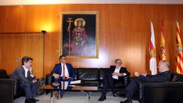 Reunión de responsables institucionales de Huesca y Lérida