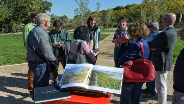 Presentación del libro 'Zaragoza Natural, un tesoro por descubrir'.