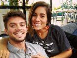 Carlos Right y Julia Medina