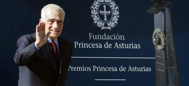 Martin Scorsese, en Oviedo para recibir el Premio Princesa de Asturias de las Artes.