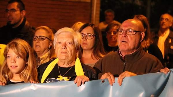 La madre de Jordi Cuixart