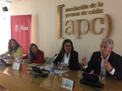 La consejera de Educación, Sonia Gaya, en un acto del PSOE