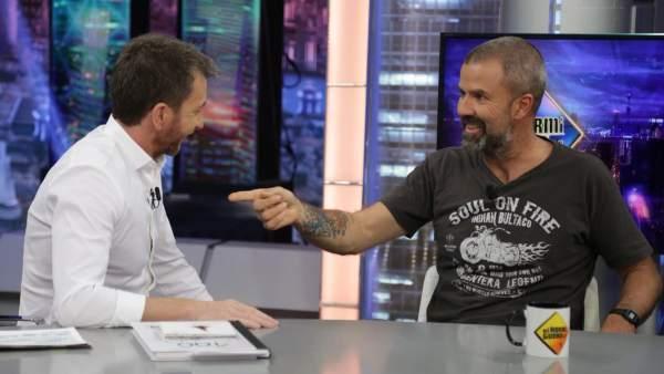 Pau Donés, en 'El hormiguero'.