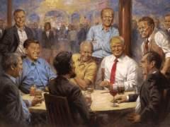 Un cuadro presidencial en la Casa Blanca, la última polémica de Trump