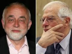 Jan Peumans y Josep Borrell