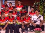 Ibra y los niños tailandeses
