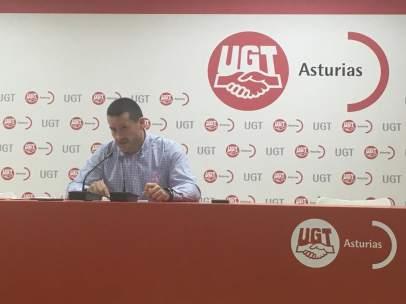 Javier Fernández Lanero, UGT