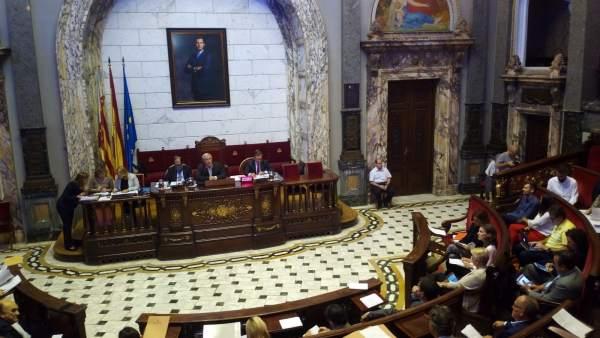 Pleno sobre el estado de la ciudad de València