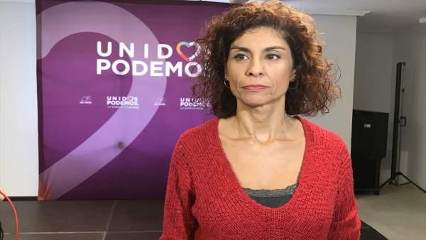 Rosana Alonso, secretaria general de Podemos en Cantabria