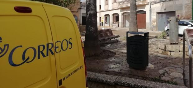 Restablecen el servicio de Correos en Sant Llorenç tras las inundaciones