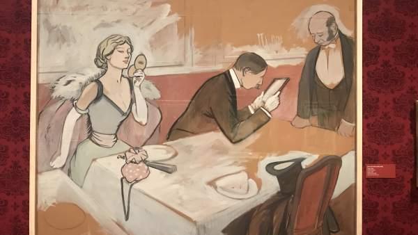 Exposición 'Toulouse-Lautrec y el espíritu de Montmartre'.